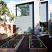 Urban backyard garden