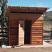 Sauna + Slant Roof + overhang