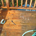 Deck cleaned on the left side
