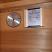 Infrared sauna temperature reaches 130F.