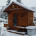 Sauna in first snow - Santa Fe, NM
