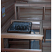 LA Pro model sauna heater with guardrail