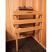 Installed in a cedar sauna
