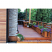 cedar deck and planters sun frogged