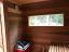 4'x6' Sauna Kit ~ Inside View