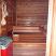 Open door to the sauna!