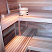 Sauna benching for several persons
