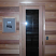 16x67 sauna door + long glass