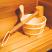 Wood Sauna Bucket One Gallon