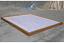 Modular sauna tray for hardwood floors or deck