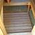 Sauna duckboard in walk-in area only
