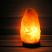 Sauna salt lamp in dark