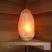 Sauna salt lamp + shelf