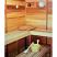 Light in the sauna interior