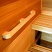 Cedar Sauna Grab Rail / Wall Handle