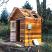 4x6 sauna roof assembled outside