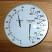 "5"" Chrome Sauna Dual Thermometer + Hygrometer"