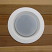Drop opal trim w/ plastic trim ring for steam