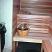 Sauna bench facing in Finnish Sauna