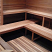 Installed precut sauna