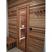 Sauna door (clear glass) in indoor precut sauna