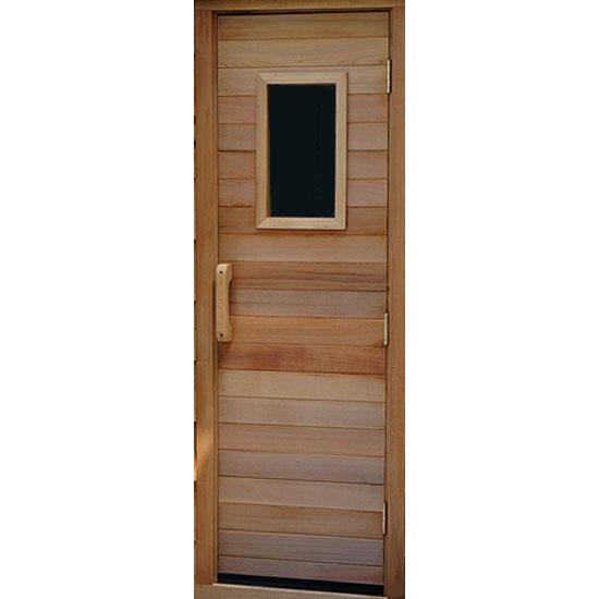 Residential Sauna Door With 10 Quot X 18 Quot Window