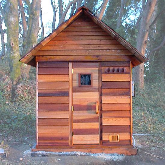 4 X 6 Outdoor Sauna Kit Heater Accessories
