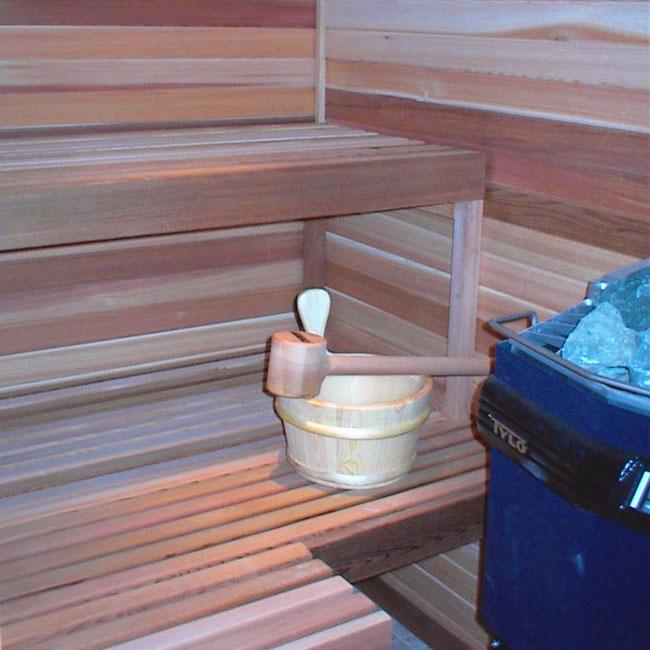 4 X6 Indoor Home Sauna Kit Heater Accessories Package