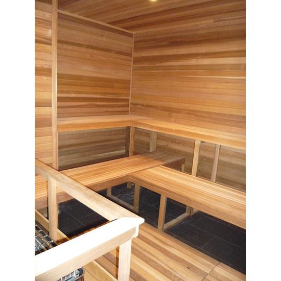 8\'x8\' Sauna Kit | DIY Precut + Heater Package