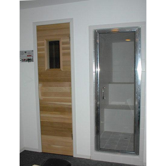 Mx Model Prehung Glass Residential Steam Door