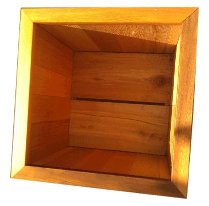 Cedar Planter Box 18 Quot X 18 Quot X 18 Quot