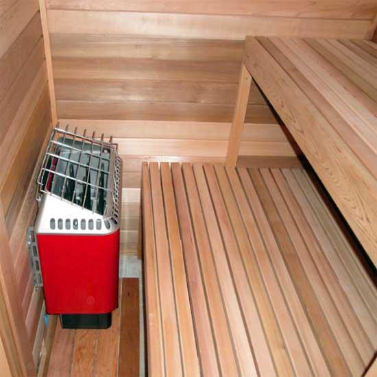 4 X7 Home Sauna Kit Diy Precut Sauna Heater Package
