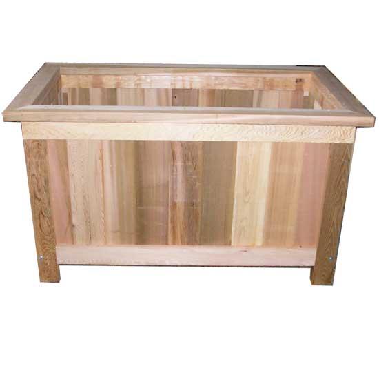 Jumbo Cedar Planter Box 42 L X 24 W X 24 H