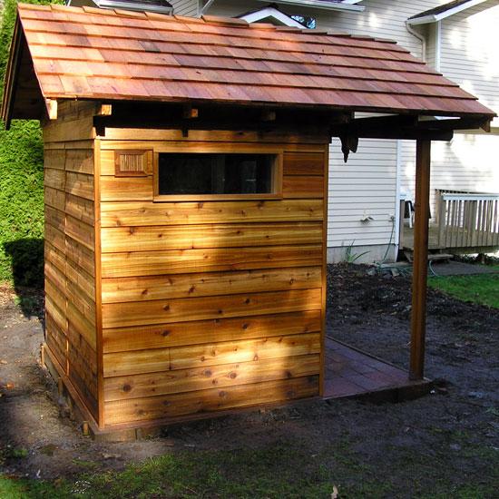 5 X7 Outdoor Sauna Kit Heater Accessories Porch Roof