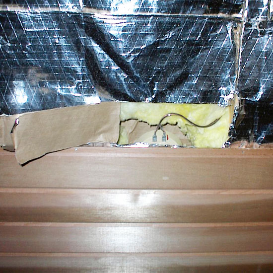 Sauna Foil Vapor Barrier Fits 4x4x7 114 Sq Ft
