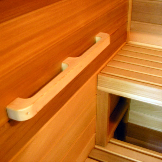 Sauna Cedar Grab Rail Wall Handle