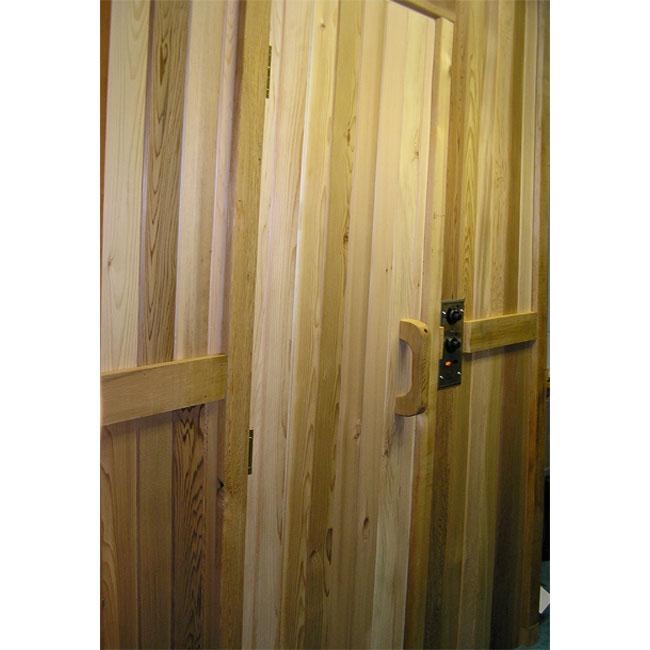 Residential Sauna Door Solid Clear Cedar