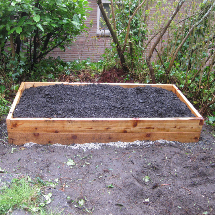 4'x4' Cedar Raised Garden Bed Kit