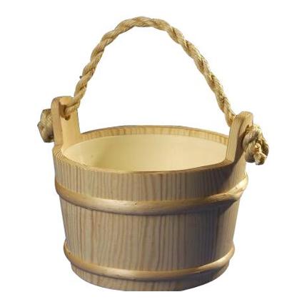 Wood Sauna Bucket 1 Gallon