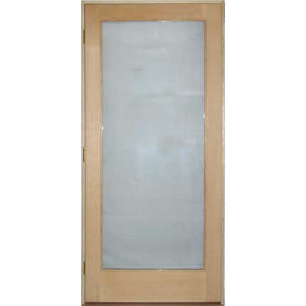 "ADA Commercial Fir Sauna Glass Door 38""x86"""