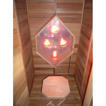 Infrared Diamond Sauna Light Box