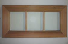 """17"""" x 43"""" Cedar Window"""