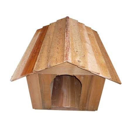 Medium Cedar Doghouse Kit