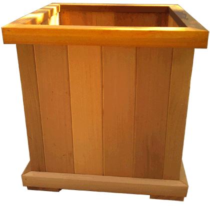 Cedar Planter Box 18x18x18