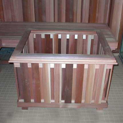 Commercial Sauna Heater Guard Rail