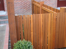6 Ft Grapestake Split Cedar Fencing