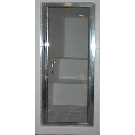 Brilliance Model Prehung Glass Residential Steam Door