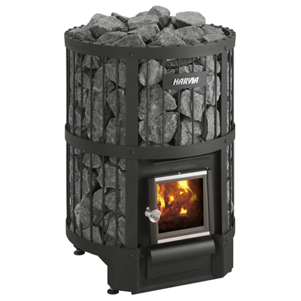 Harvia Legend 240 SL Wood Burning Sauna Heater (External Feed)