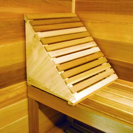 Sauna Back Rest / Lounger Style