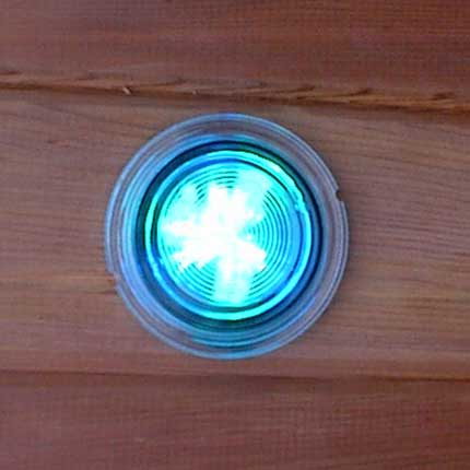 Sauna Chromatherapy Light Bulb Replacement